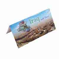 Iraq Description Card - Half Dinar
