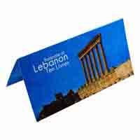 Lebanon Description Card