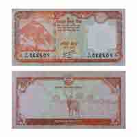 Nepal Currency Note 20 rupees
