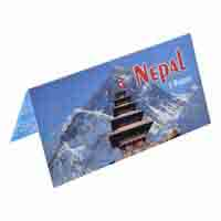 Nepal Description Card - 5 Rupee