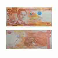 Phillippines 20 Peso Note