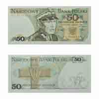 Poland 50 Zloty Note
