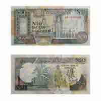 Somalia 50 Shillings Note