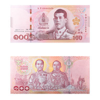 Thailand Currency Note 100 Baht