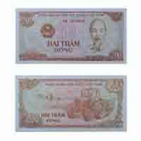 Vietnam 200 Dong Note