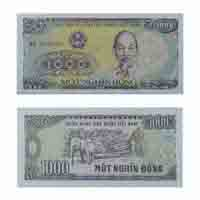 Vietnam Currency Note 1000 Dong