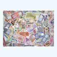 World 100 Assorted Currency Note