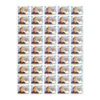 Mallikarjun Mansur Full Stamp Sheet 5Rs - 2014