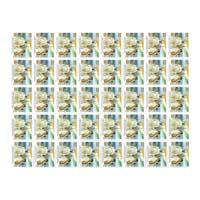 100 Years Of Mahatma Gandhi's  Return Full Stamp Sheet 25Rs - 2015