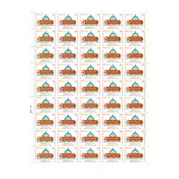 Nabakalebara Full Stamp Sheet 5Rs - 2015