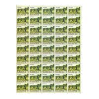Valour And Sacrifice Army Full Stamp Sheet 5Rs - 2015