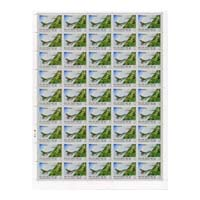 Valour And Sacrifice Aircrafts Full Stamp Sheet 5Rs - 2015