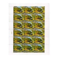 Zoological Survey Of India Full Stamp Sheet 5Rs - 2015