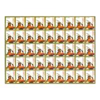 Alagumuthu Kone Full Stamp Sheet 5Rs - 2015