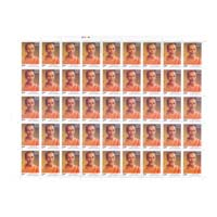 Swami Chidananda Full Stamp Sheet 5Rs - 2016