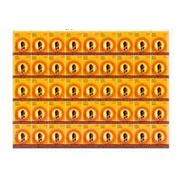 Surya Namaskar - Padahastasana Full Stamp Sheet 25Rs - 2016