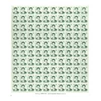Srinivasa Ramanujan Full Stamp Sheet 4Rs - 2016