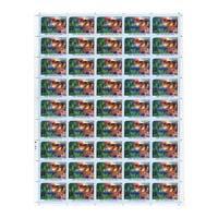 Nature -India Deer Full Stamp Sheet 5Rs - 2017