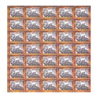 1942 Freedom Movement - Aga Khan Palace Full Stamp Sheet 5Rs - 2017
