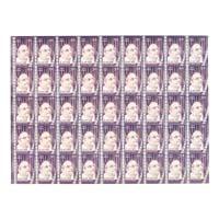 B. Nagi Reddi Full Stamp Sheet 5Rs - 2018