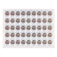 Nikola Tesla Full Stamp Sheet 5Rs - 2018