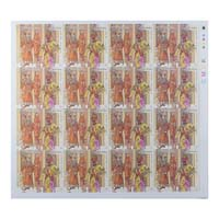 Indian Fashion Indian Princely States Full Stamp Sheet 15Rs - 2018