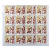 Indian Fashion Harappa and Mohenjo-Daro Full Stamp Sheet 15Rs - 2018