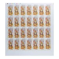 Indian Fashion Nur Jahan Full Stamp Sheet 5Rs - 2018