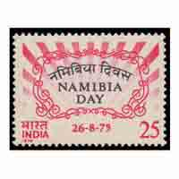 Namibia day Stamp