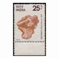 Centenary of Mathura Museum Stamp
