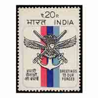 Greetings To Our Forces Stamp