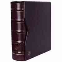 Lighthouse Album for 200 FDCs or letter in C6 format - incl. Slipcase - Red