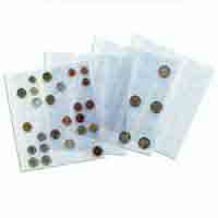 Lighthouse Coin Sheets NUMIS - 30 pockets upto 25mm