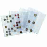 LightHouse Coin Sheets NUMIS- for 12 coin holders 50 x 50mm