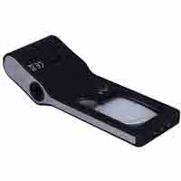 Lighthouse LED Pocket Magnifier 6 in 1 - 15x Magnification with Light
