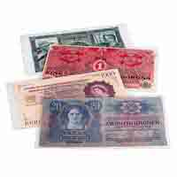 Lighthouse  Plastic Pockets for Banknotes PREMIUM - 210 x 127mm