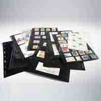 Lighthouse Plastic Pockets VARIO - 3 way division - Black film