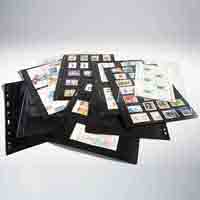 Lighthouse Plastic Pockets VARIO - 6 way division - Black film