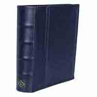 Lighthouse Postcard Album with 50 Clear Pockets - Blue