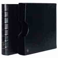 Lighthouse Ringbinder MAXIMUM - in classic design incl. Slipcase - Black