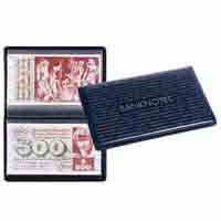 Lighthouse ROUTE Banknotes 210 Pocket Album