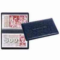 Lighthouse ROUTE Banknotes 210 Pocket Album