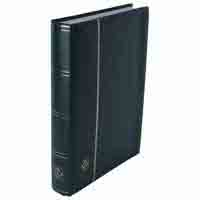 Lighthouse Stockbook A4-64 White pages - Padded Cover - Green