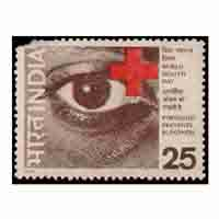 World Health Day - Prevention of Blindness Stamp