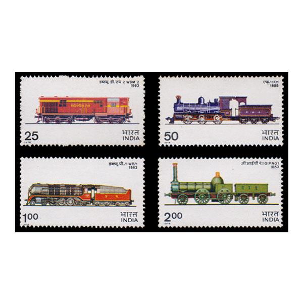 Indian Locomotives Stamp