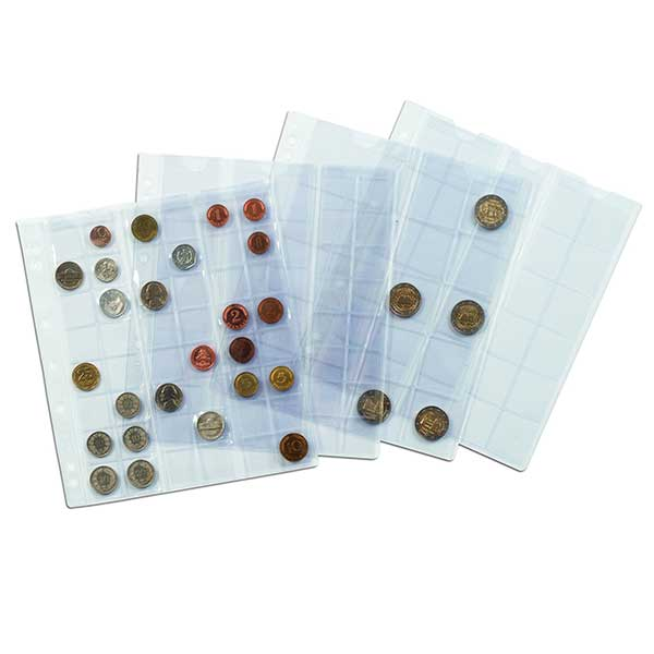 Lighthouse Coins Sheets NUMIS - 12 pockets upto 44mm