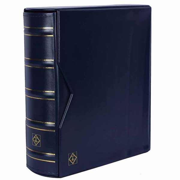 Lighthouse Ringbinder OPTIMA - in classic design  GIGANT incl. Slipcase - Blue