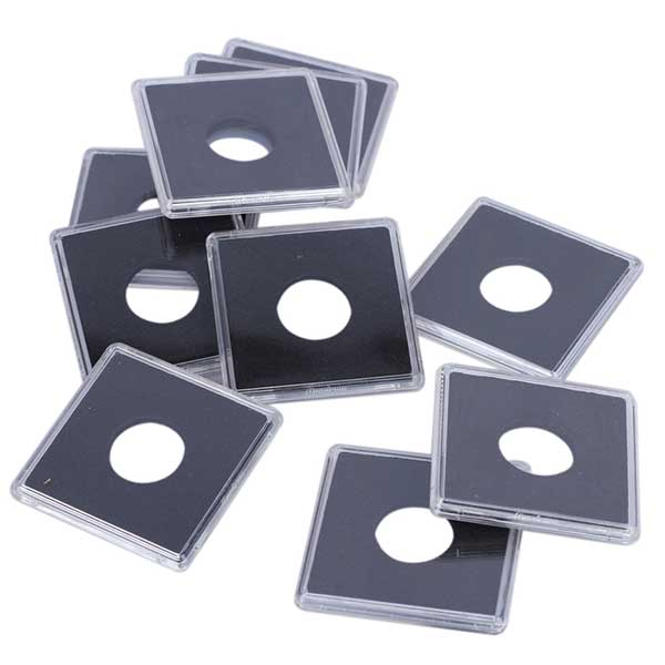 Lighthouse Squares Coin Capsules QUADRUM - inner diameter 15mm