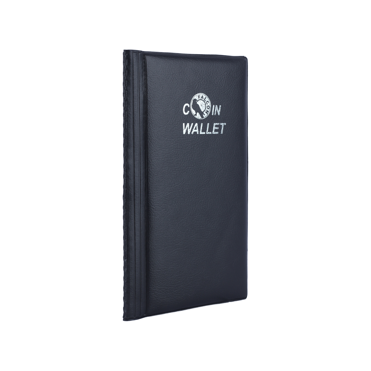 Medium Coin Wallet - for 80 Coins - Black