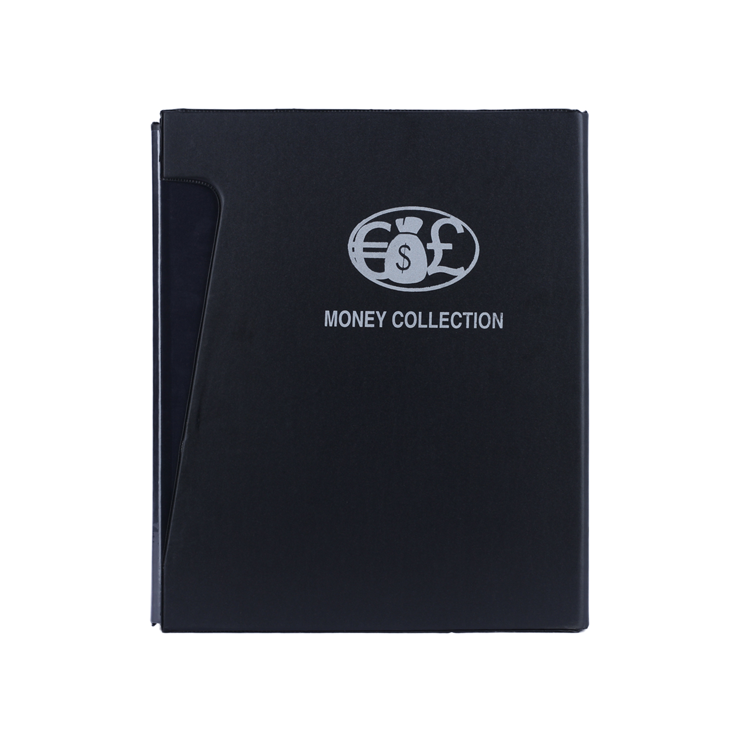 Premium Coin Album with Coin Holders - Black